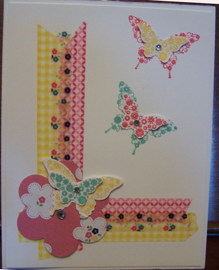 Butterflies with Washi Tape