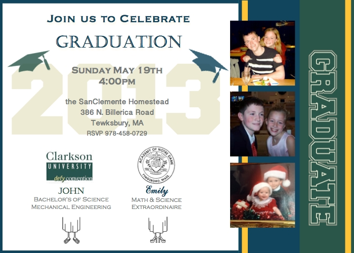 graduation2 001 LNS Challenge   Graduation Announcement