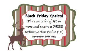 Gift Certificate-black friday