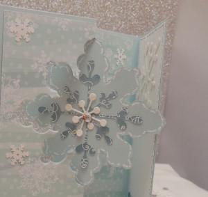 DSCN0459cuf 300x283 Snowflake Flip Card