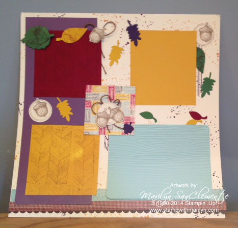 fall scrapbook page3w