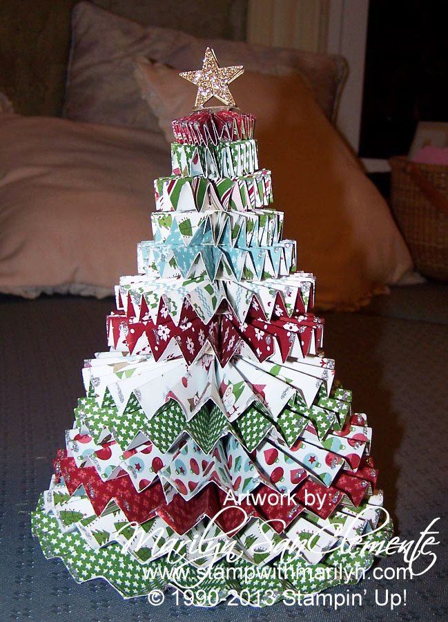 how to make a 3d christmas tree illustratr