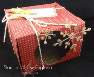 Stampin' Up! Gift Box Punch Board