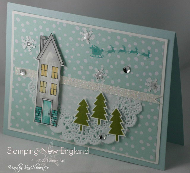 Holiday Home Christmas Card