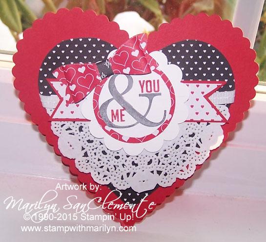 Valentine Easel Card