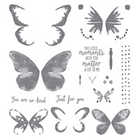 Watercolor Wings Stamp set