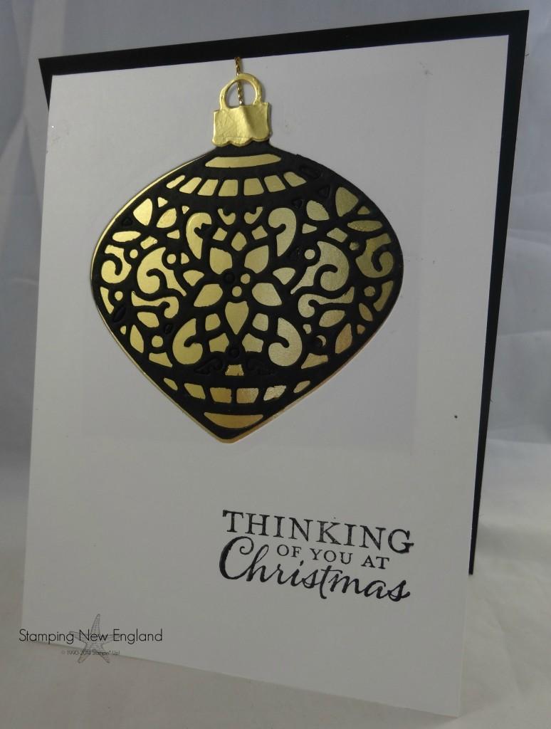 Embellished Ornaments card