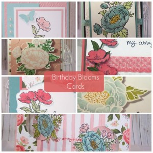 Birthday Blooms Collage