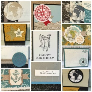 Masculine card Collage - 5-16
