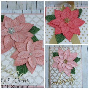 Poinsettia Collage