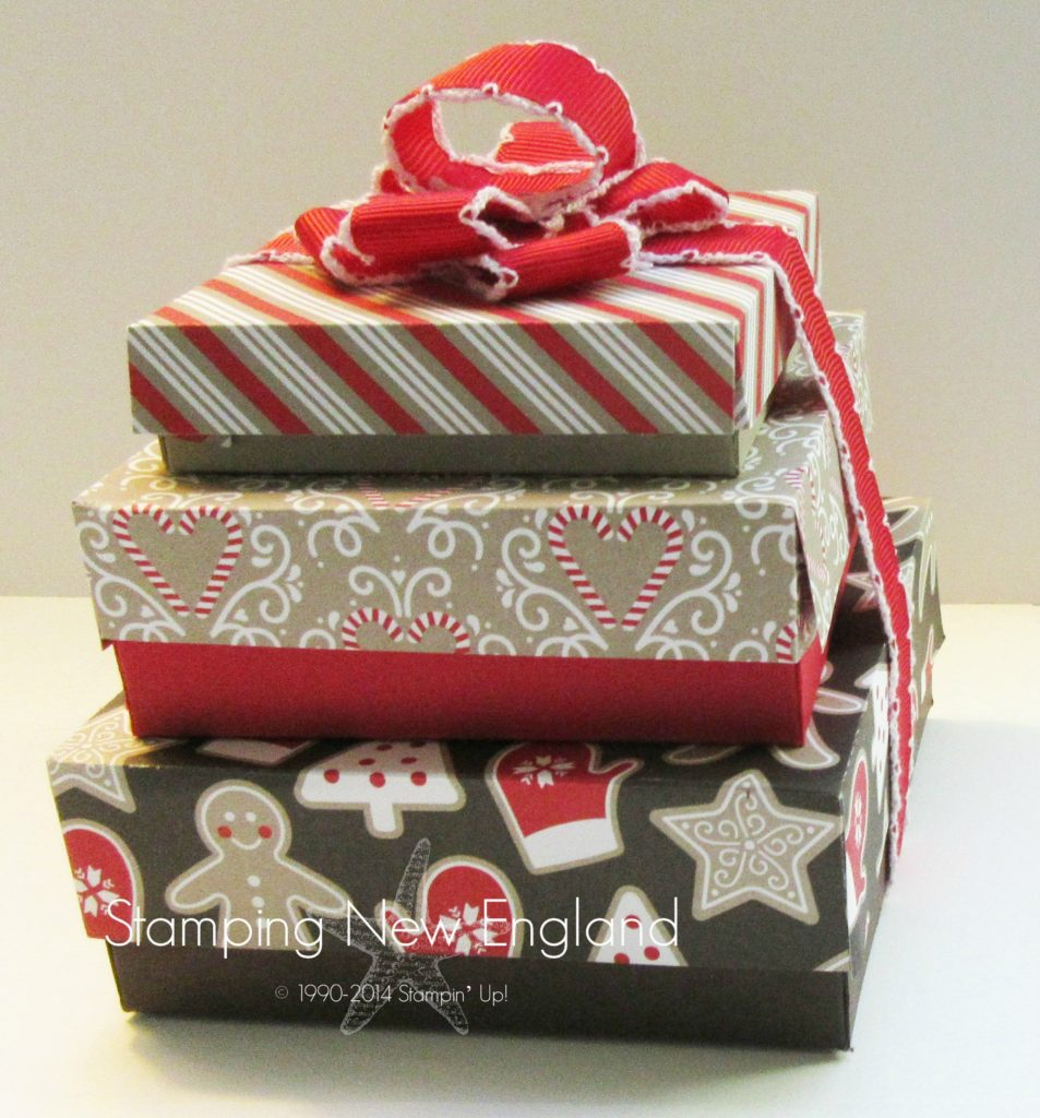 Handmade Chrstimas boxes