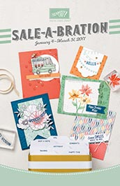 STampin' UP! SAB Flyer