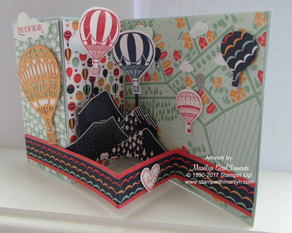 Life me Up Z fold card