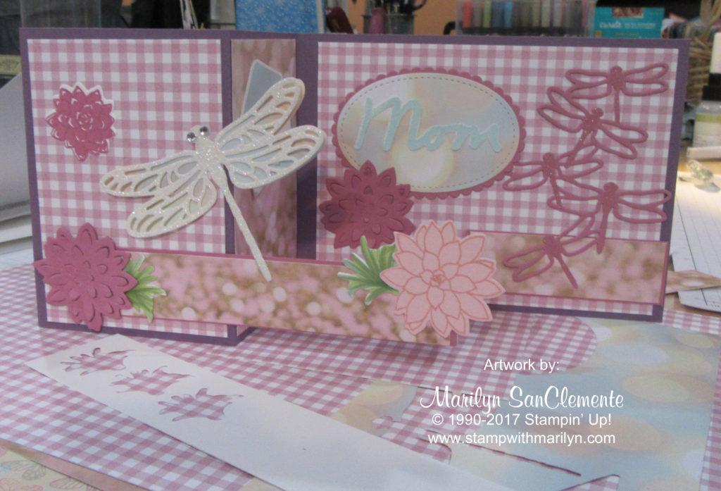 Dragonfly Z Fold Card