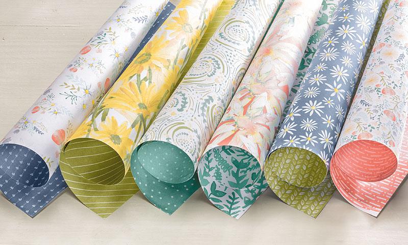Delightful Daisy Designer Series paper stack