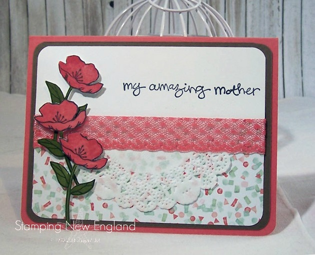 Bloomin' Birthday Mother's Day Card