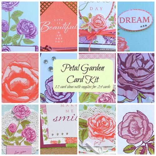 Petal Garden Card Class