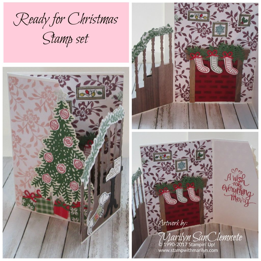 3D Handmade Christmas card