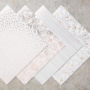 Springtime Foil Specialty Designer Series Paper