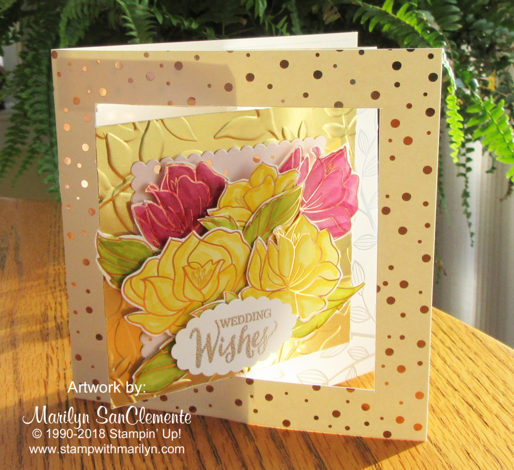 Cards that move archives stamp with marilyn springtime foil designer series paper kristyandbryce Image collections