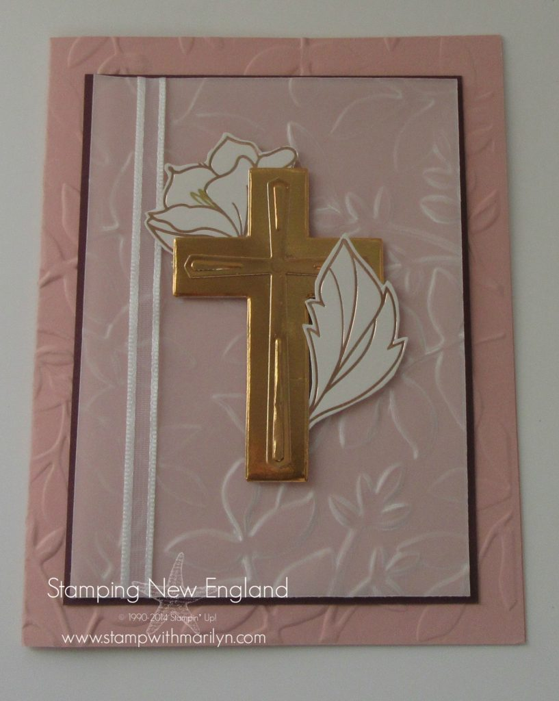 Crosses of Hope handmade card