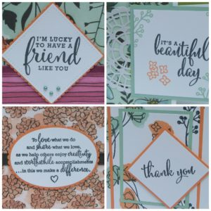 Share what you love card class for Creative Crafters' Escape