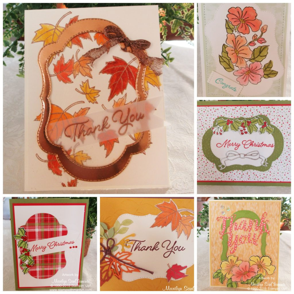 Blended Seasons Card Class