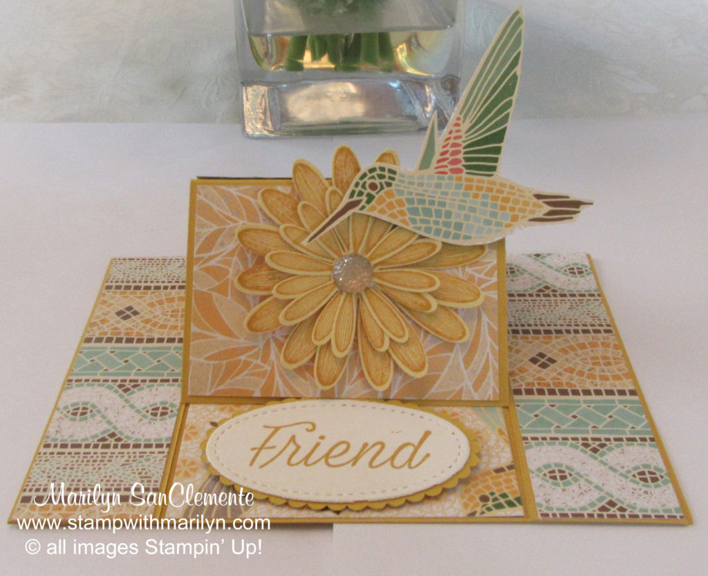 Daisy Lane Easel Card
