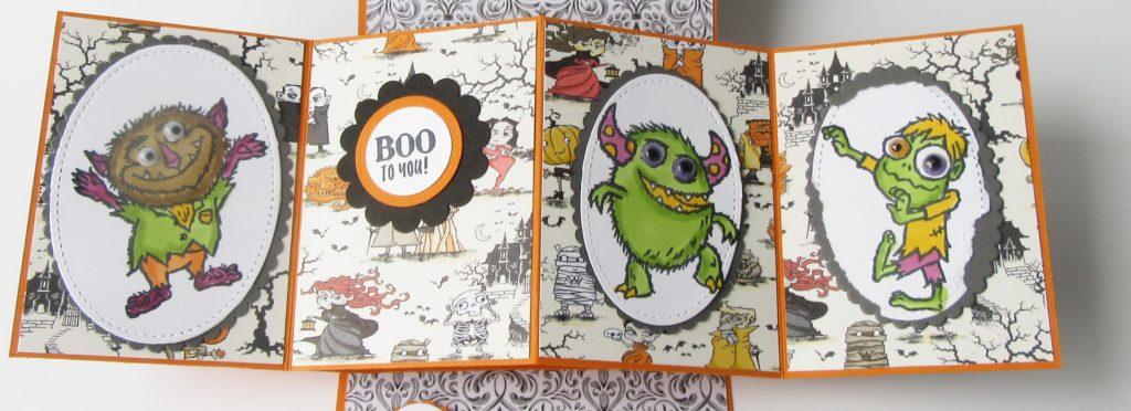 Pop up Halloween Card