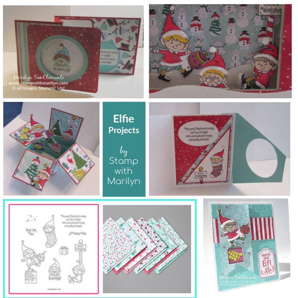 Favorite Holiday Stamp set Elfie