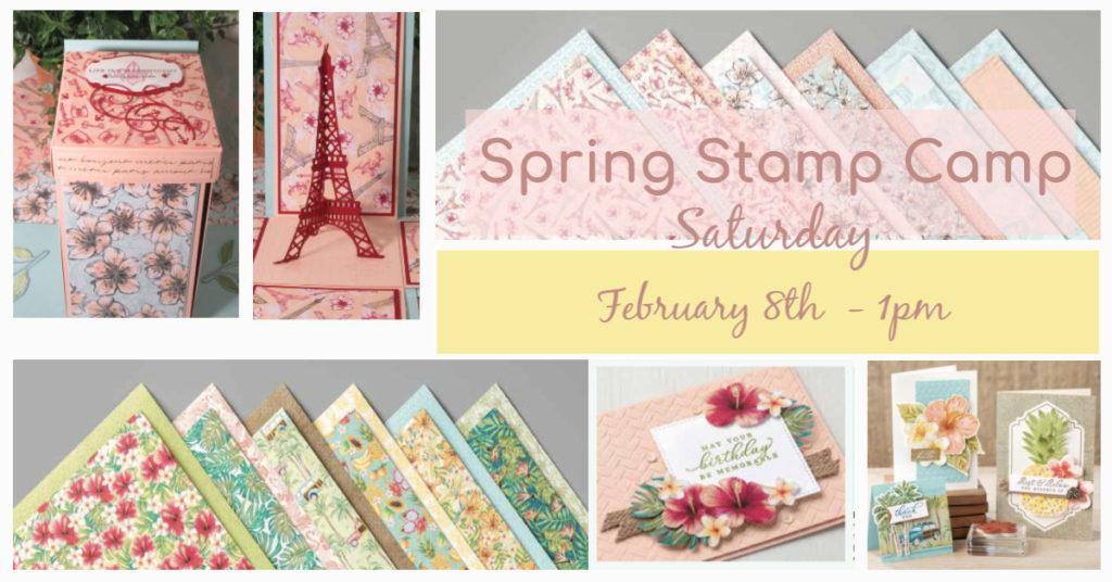 Spring Stamp Camp