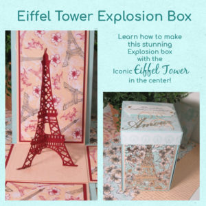 Parisian Blossoms Explosion Box