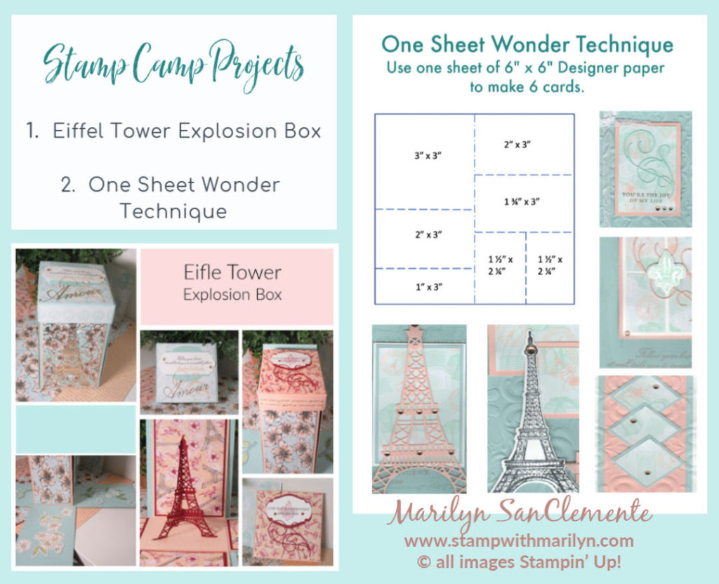 Parisian Blossoms Projects