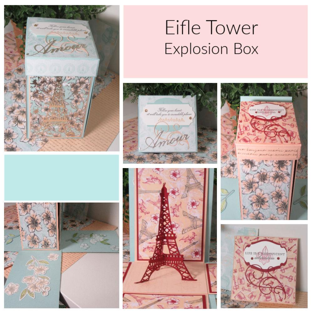Eiffel Tower Explosion Box