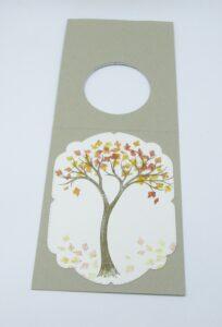 beautiful window card