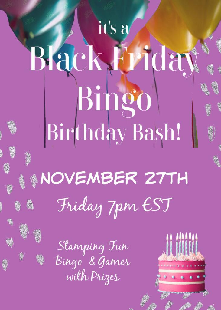 Black Friday Bingo BASH