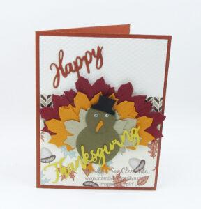 Build a Turkey Card