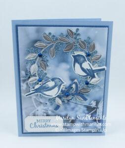 Arrange a Wreath card