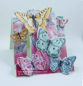Butterfly Stair Step Card