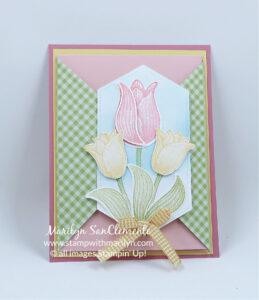Fun Fold Timeless Tulip Card