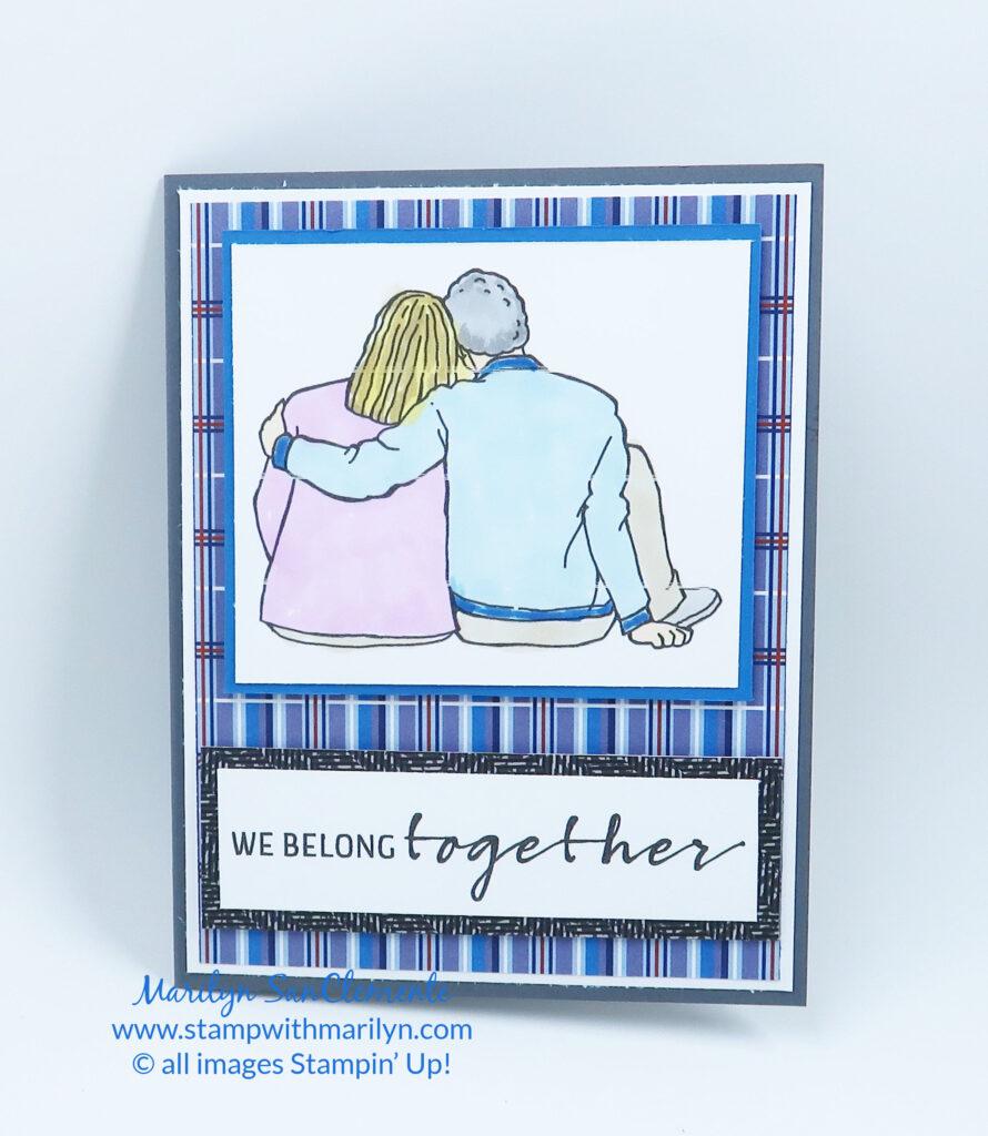 handmade masculine card
